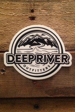 Deep River Die Cut Sticker Decal