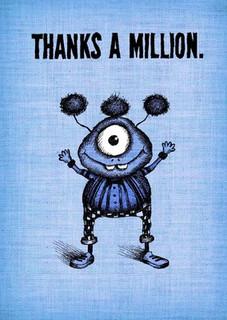 #178  Thanks a million - Wait, thanks 800,000.