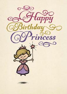 B-024  Happy Birthday, Princess.
