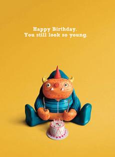#144  Happy Birthday. You still look so young.