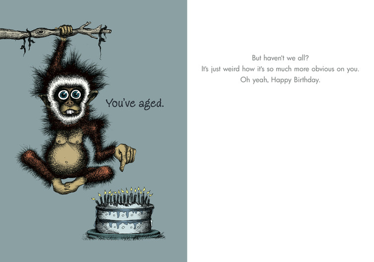 078 youve aged but havent we all bald guy greetings image 1 bookmarktalkfo Gallery