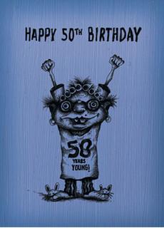 #045  Happy 50th Birthday.  - 50 more
