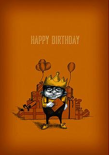 #034  Happy Birthday - Close enough friends?