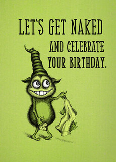 #180  HB - Let's get naked and celebrate your birthday