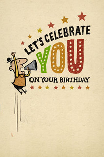 B-042  HB - Let's celebrate YOU.