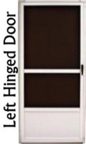 """36"""" x 80"""" Aluminum Screen Door"""