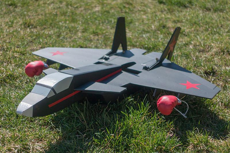 FTVector Build航模制作视频教程带航模图纸固定翼看灰机网 第12张