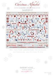 CHRISTMAS ALPHABET SAMPLER