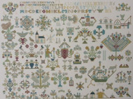 CHART PACK ANTIQUE DUTCH SAMPLER FRIESLAND 1716