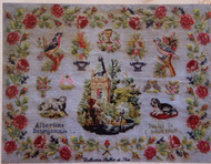 CHART PACK ANTIQUE FRENCH SAMPLER Albertine Bourgonnie 1907