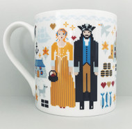 CORNISH FOLKIES Bone China Mug