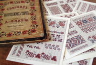 CHART PACK FRENCH BRODERIE RUSSES Antique Russian Patterns