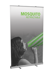 """Mosquito Retractable Banner Stand 47.25""""wide"""