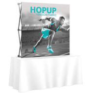 Hopup with Front Graphic 2x2 (shown with straight frame)