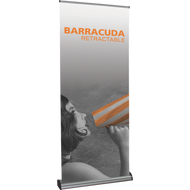 """BARRACUDA 920 RETRACTABLE BANNER STAND 35.5"""" x 60"""""""