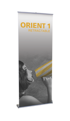 """Orient Retractable Banner Stand 31.5""""wide"""