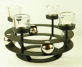 Ball Bearing Candle Holder 4 Place