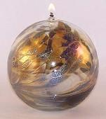 """Kugel Oil Lamp """"Old Gold"""""""