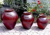Strawberry Pot w/ Gecko