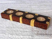 4 Place Candle Holder
