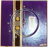 Purple Egyptian Clock
