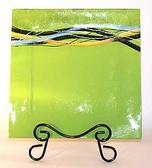 Decorate Glass Plates, Papyrus 3 pc Set