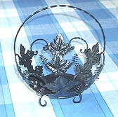 Decorative Leaf Basket