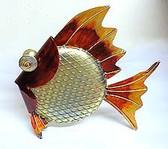 Galvanized 3D Clown Fish