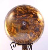 Sparkle Bronz / Amber Gazing Ball