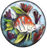 Tropical Reef Fish Medallion