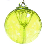 Small Witch Ball Lemon Yellow
