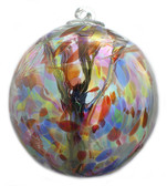 """XL Witch Ball """"Multicolor"""" (Iridized)"""