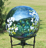 "Gazing Ball ""Daisy"""