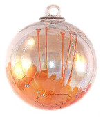 Medusa Spirit Ball, Orange & Opal Orange
