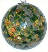 Amber Aventurin Green  3 Inch Kugel