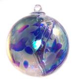 Witch Ball Oceanic Iridized