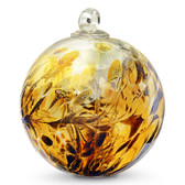 Witch Ball Bronz Iridized