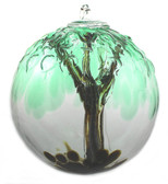 "Embossed Leaf Spirit Tree Spirit Tree ""Cedar Haven"""