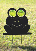 Happy Lawn Frog