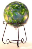 Short Scroll Gazing Ball Stand Quantity 2