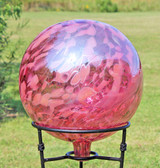 "Gazing Ball ""Tea Rose""  12 Inch"