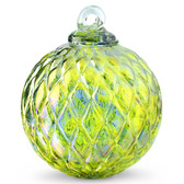 Diamond Optic Friendship Ball, Kind of Blue / Kind of Green (4 inch)