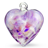 Medium Iridized Hearts Packaged Deal  Quantity 12