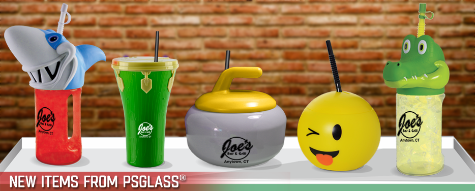 New Items From PSGLASS®