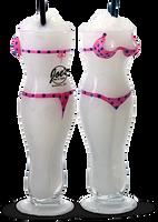 18oz Bikini Girl Glass