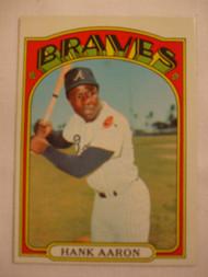 1972 Topps #299 Hank Aaron EXMT