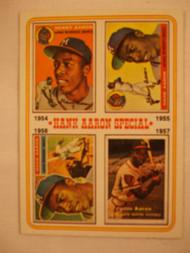 1974 Topps #2 Hank Aaron Special NRMT