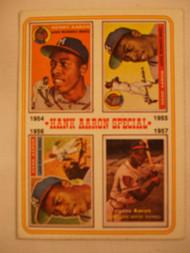 1974 Topps #2 Hank Aaron Special EX