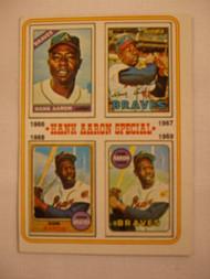 1974 Topps #5 Hank Aaron Special VGEX