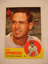 1963 Topps #205 Luis Aparicio NRMT